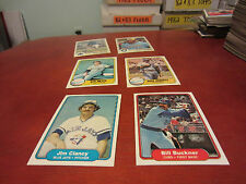 1981-1982 -1983 Fleer baseball pick 40 cards finnish yor set nr/mt