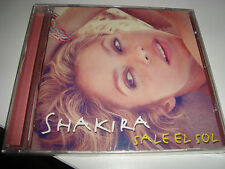 RAR CD. SHAKIRA. SALE EL SOL. 11 TRACKS & 3 BONUS TRACKS.