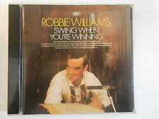 ROBBIE WILLIAMS : SWING WHEN YOU'RE WINNING - [  CD ALBUM ] --  PORT GRATUIT