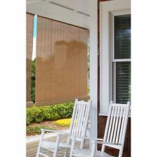 """Indoor Outdoor Bamboo Reed Blinds Roll Up Sun Shade Patio Porch Window 48"""" X 72"""