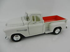 1:24 MOTOR MAX 1958 Chevrolet Step Side PICKUP TRUCK *WHITE* *DIECAST*