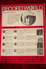 Record World Magazine Dec 9, 1972 - Helen Reddy, Marvin Gaye, Alice Cooper