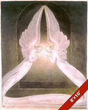 ANGELS GUARD TOMB & BODY OF THE LORD JESUS CHRIST PAINTING ART REAL CANVAS PRINT