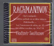 VLADIMIR SOULTANOV CD (NEW) RACHMANINOV PRELUDE ELEGIE (CASSIOPEE)