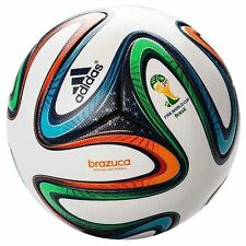 ADIDAS BRAZUCA OFFICIAL SOCCER MATCH BALL | FIFA WORLD CUP 2014 ORIGINAL REPLICA