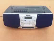 SONY CFD-S38 CD RADIO CASSETTE RECORDER MEGA BASS BOOMBOX - BATTERIES INCLUDED!!