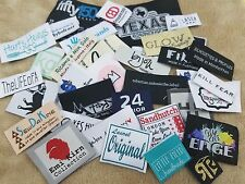 100pcs Custom Damask Woven Clothing Labels (Letter Only) Free Shipping