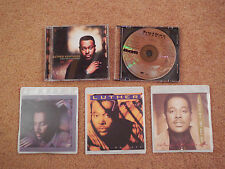 Luther Vandross 5 CD Lot - Power Of love, Best of, Dance with My Father Never...