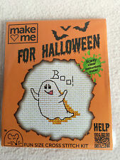 MOUSELOFT CROSS STITCH KIT ~  MAKE ME FOR HALLOWEEN ~ GHOST ~ NEW