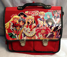 SCHOOL BAG- Sailor Moon S- Vintage 90's - Gorgeous Illustration! Satchel Bag