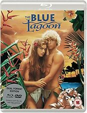 THE BLUE LAGOON Brooke Shields BLURAY+DVD in Inglese NEW .cp