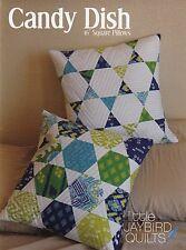 Candy Dish Quilt Pattern ~ Hexagon Pillows ~ uses Jaybird Hex N More ruler