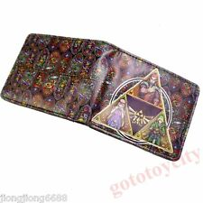 The Legend of Zelda Woman Men Cosplay Leather Anime Wallets Purse Gift NEW