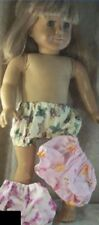 """Doll Clothes Girl 3 Pairs Panties fit 14 15 16 18 20"""" Inch Butterfly Pink NEW"""