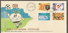 Fiji FDC World Cup Soccer Spain 82  15.6.1982