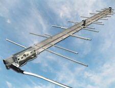 BoostWaves Directional Yagi TV Antenna HDTV UHF VHF FM Outdoor Optimized Digital