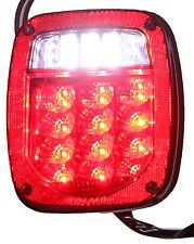 Red Jeep TJ CJ YJ JK Replacement Tail Light without LED's Illuminator