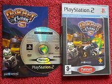 RATCHET & CLANK 3 ORIGINAL PLATINUM RELEASE PLAYSTATION 2 PS2 PAL