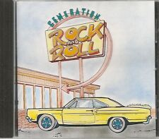 CD COMPIL 16 TITRES--GENERATION ROCK & ROLL--LEE LEWIS/PERKINS/CASH/SMITH/RICH