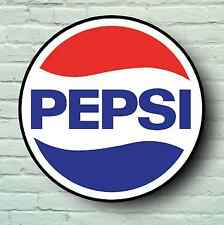 LARGE PEPSI SIGN RETRO STYLE PICTURE BAR PUB CAFE USA COFFEE TEA CATERING LOGO