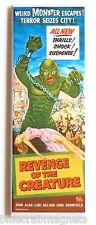 Revenge of the Creature FRIDGE MAGNET (1.5 x 4.5 inches) insert movie poster