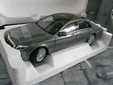 MERCEDES Benz S Class Classe S 2013 w222 SILVER MET Norev NUOVO 1:18