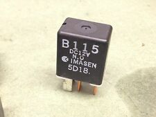 2004-2008 MAZDA RX8 RX-8 Relay Imasen B115 4 pin BLACK mode OEM Used