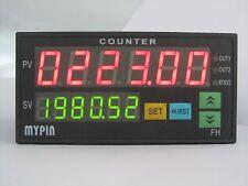 90-265V AC/DC 6 Preset Digital Batch counter 2 Relays Output FC8-6CRRB 48H X 96W