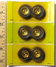 6pc Vintage Classic 1/24 1:24 Slot Car MIRROR PLATE FRONT WHEELS Japan 3373 MOC
