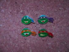 PINS TORTUE / TURTLE NINJA  SET COMPLET 4 PINS OFFICIAL MIRAGE TBEG