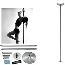 Dancing Pole Dance Fitness Portable Static Stripper Spinning Exercise Stainless