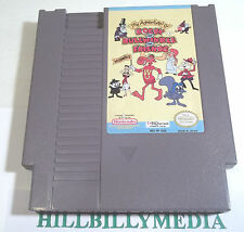 The Adventures of Rocky & Bullwinkle (Nintendo) and good cond NES game FREE SHIP