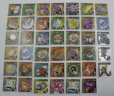 Lot of 41 Japanese 1998 Pokemon Stickers