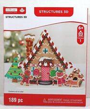 CREATOLOGY GINGERBREAD HOUSE DOG HOUSE 3D STRUCTURE FOAM KIT CRAFT FOAMIES NEW!