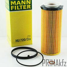 Hombre original filtro filtro aceite hu 720/3 x bmw 3er 5er 325d 330d 530d 535d 7er x5