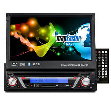 CREATONE V-7160DG AUTORADIO DVD 1DIN TOUCHSCREEN GPS NAVIGATION BT l 64GB USB+SD