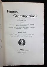 1904 Angelo Mariani Vin Album Figures contemporaines Ex. 1/25 Arches Rare biblio