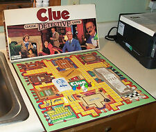 vintage 1986 CLUE board game COMPLETE very nice condition