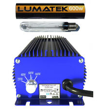 600w lumatek Digital Ballast and Bulb,  New 660w