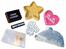 Message In A Cookie Stamp & Cutters Set - Create Personalized Valentine Cookies