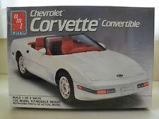 AMT / ERTL 1991 CHEVROLET CORVETTE CONVERTIBLE (2 'N 1) MODEL KIT (SEALED)