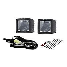 "PIAA 07603 RF Series 3"" LED Cube Light Driving Beam Kit SAE Compliant"