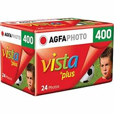5 Rolls Agfa Vista Plus ISO 400 35mm Color Print Film  24 exp. Agfaphoto 4/2017