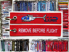 MD Helicopter 500 keychain remove before flight part pilot owner Hughes 520 600