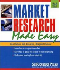 Market Research by Margaret Doman, Dell Dennison and Don Doman (2002,...