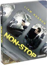 NON-STOP (Liam Neeson, Julianne Moore) Blu-ray Disc, Steelbook NEU+OVP