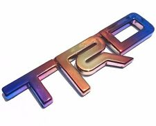 TRD 3D BADGE EMBLEM LOGO DECALS STICKER CAR TOYOTA REVO VIGO TITANIUM CHROME