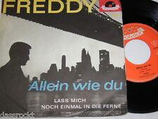 "7"" - Freddy / Lass mich noch einmal in die Ferne + Postkarte # 0402"