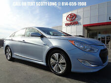 2013 Hyundai Sonata 2013 Sonata Hybrid Limited Nav Leather Video Blue