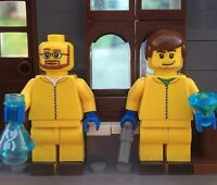 Lego Custom Minifigures Breaking Bad Jesse and Walter